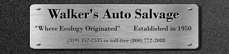 Walker's Auto Salvage
